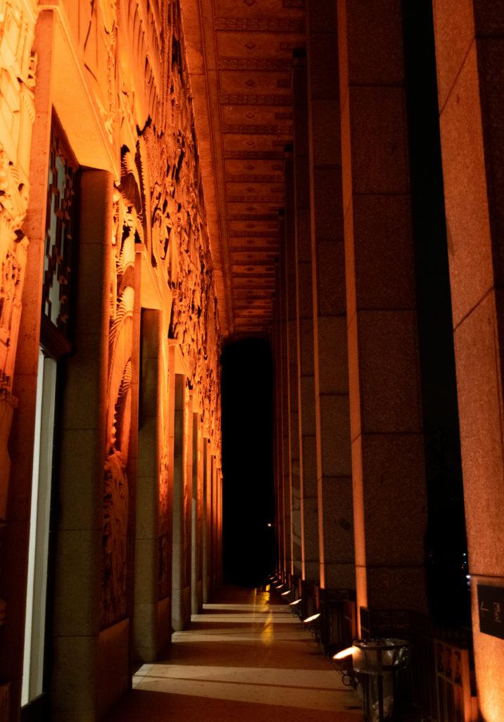 dark tourism sombre nuit