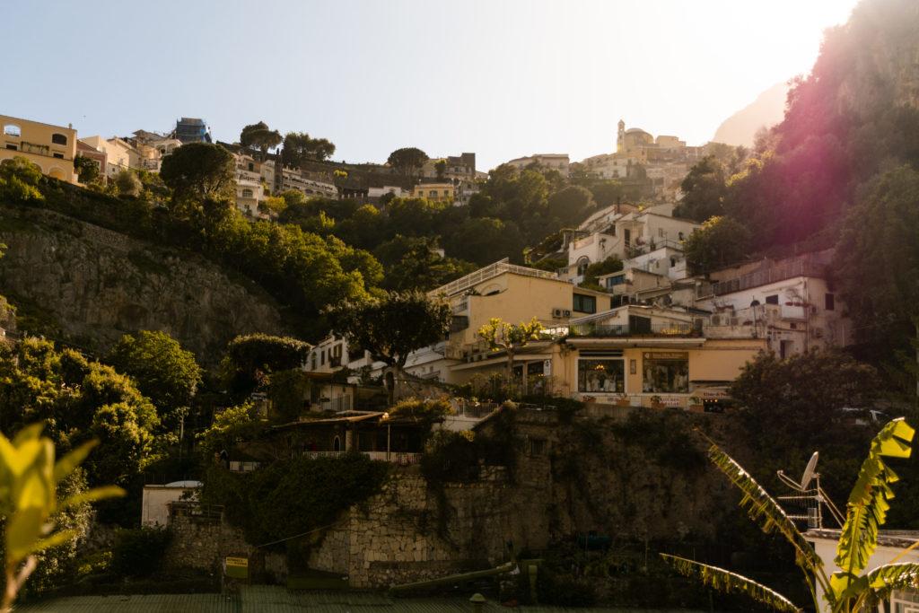 positano italie paysage vue