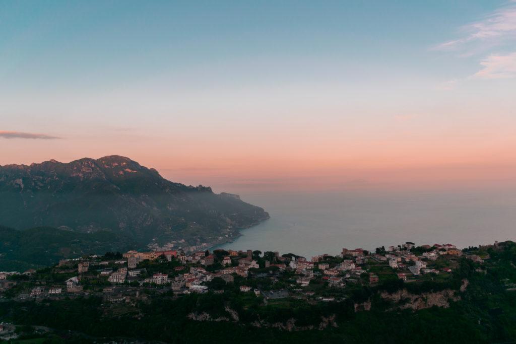 ravello côte amalfitaine paysage