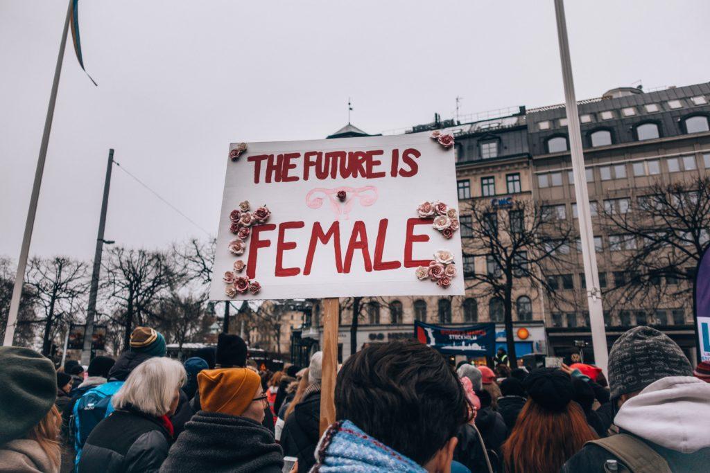 feminisme feministe 21eme siecle xx futur is female manifestation festival rassemblement politique