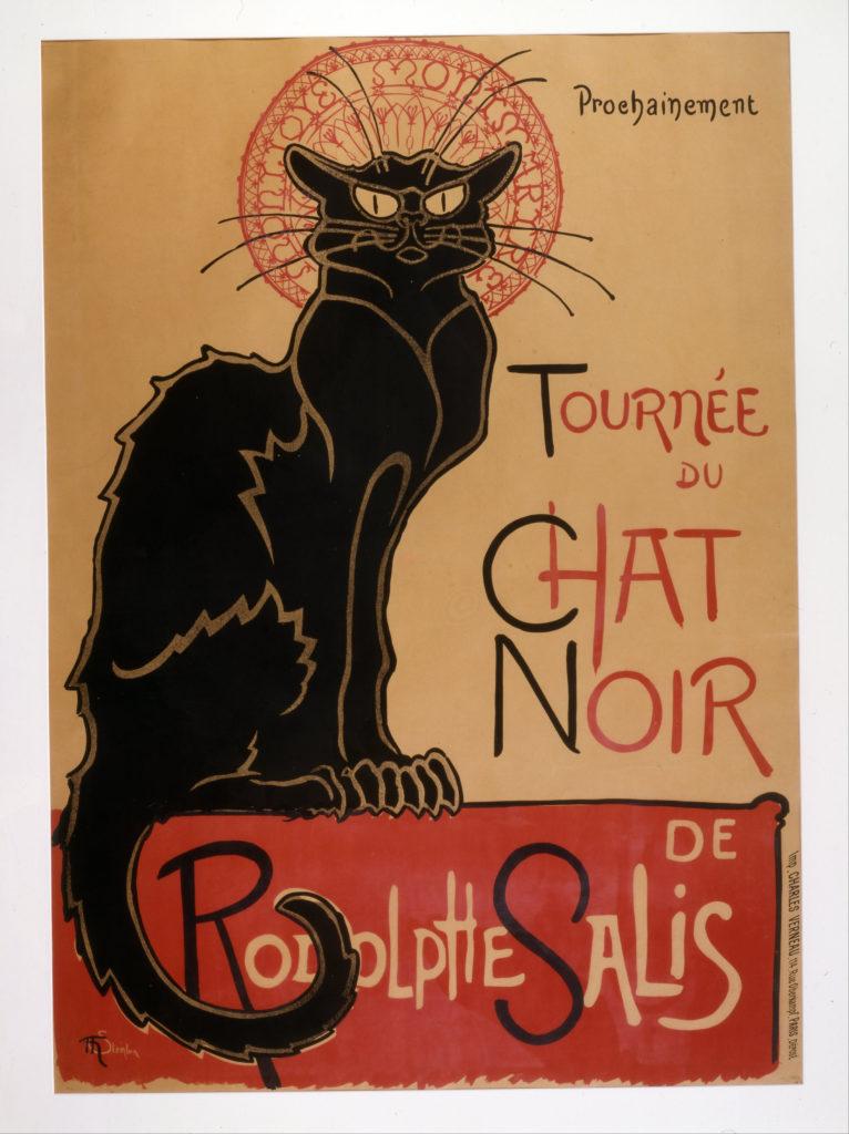 chat dans l art noir bar paris