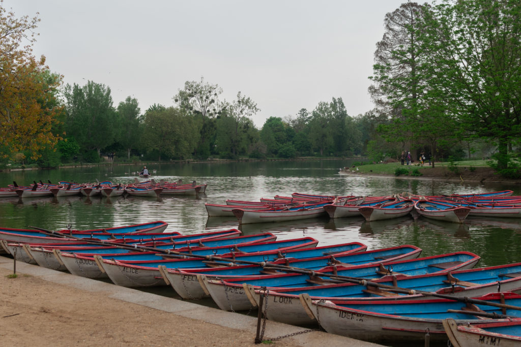 balade bois vincennes paris barque eau lac daumesnil