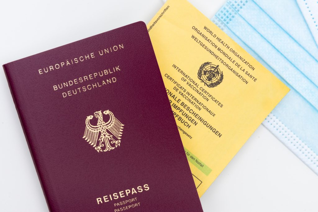 limite pass sanitaire passeport voyage aeroport touriste