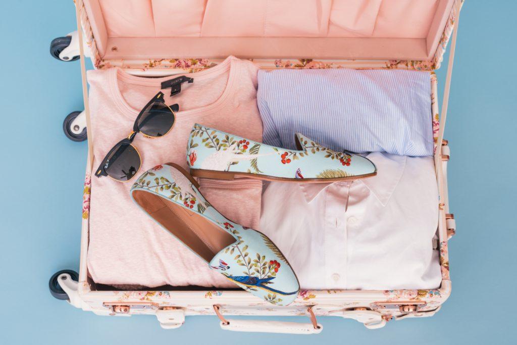 packr valise bagage to do list appli mobile