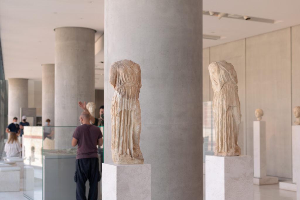 musee de l acropole athenes grece