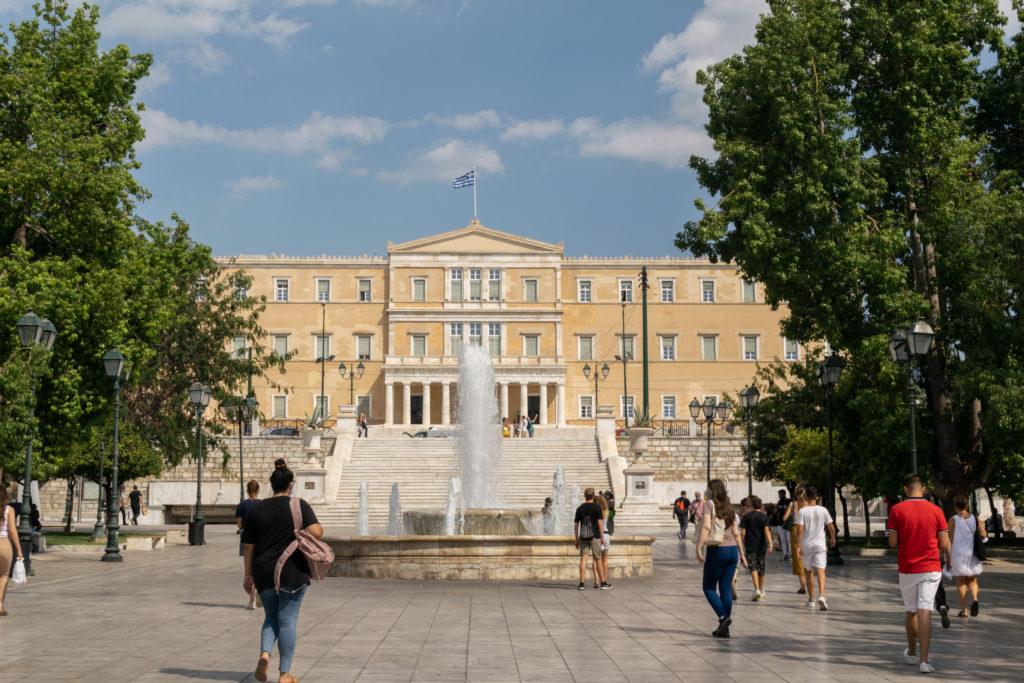 quartier parlement plage syntagma